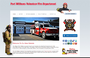 Fire Department Website